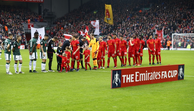 Liverpool vs Plymouth Argyle (Foto: Reuters)