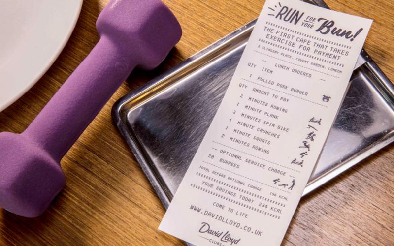 OMG, Kafe Ini Tawarkan Makan Gratis dengan Sistem Pembayaran Olahraga