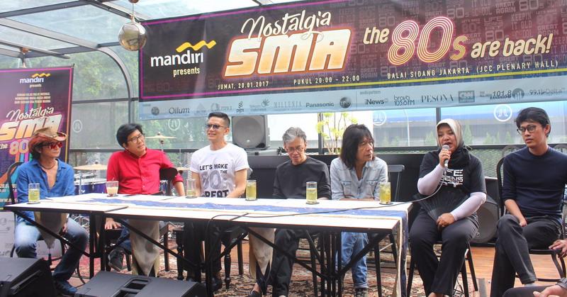Konferensi Pers Nostalgia SMA (Foto: Ray/Okezone)