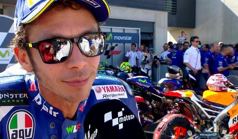 Valentino Rossi (Foto: Situs resmi MotoGP)
