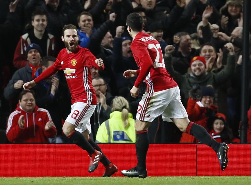 Selebrasi Mata dikritik Mourinho. (Foto: REUTERS/Jason Cairnduff)