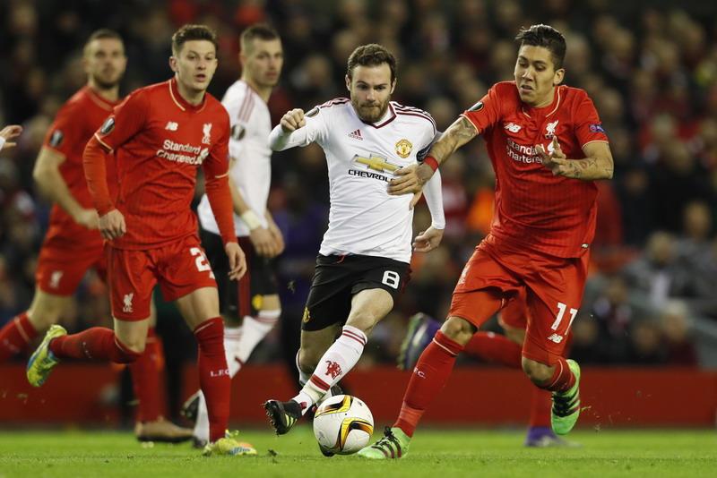 Mata sebut laga versus Liverpool selalu spesial. (Foto: REUTERS/Phil Noble)