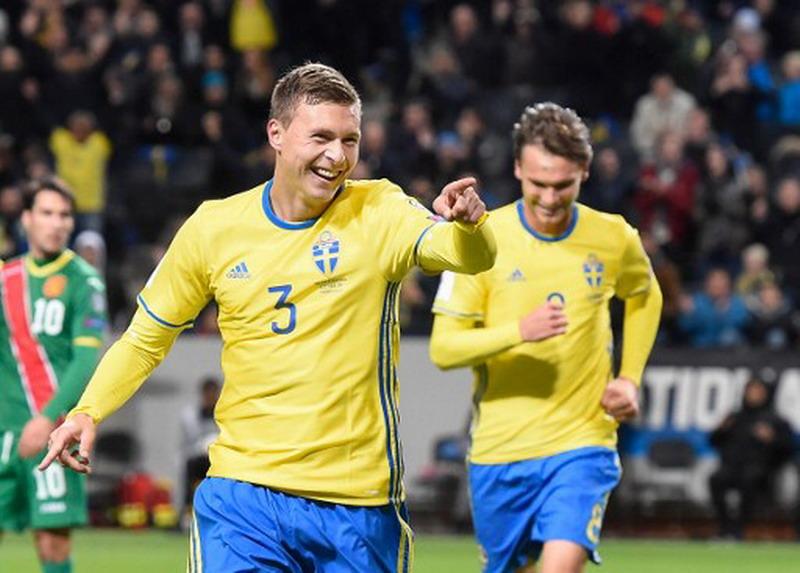 Lindelof tak diminati Man United. (Foto: AFP/Jack Nackstrand)