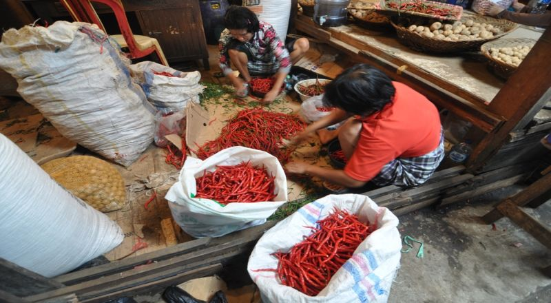 \Operasi Pasar, Bulog Jual Cabai Rawit Merah Rp60.000/Kg\