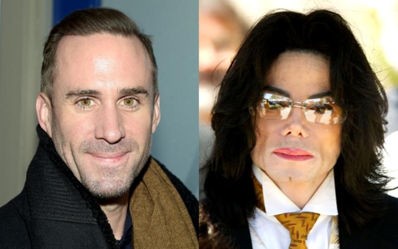 Joseph Firnnes dan Michael Jackson (Foto: TheWarp)