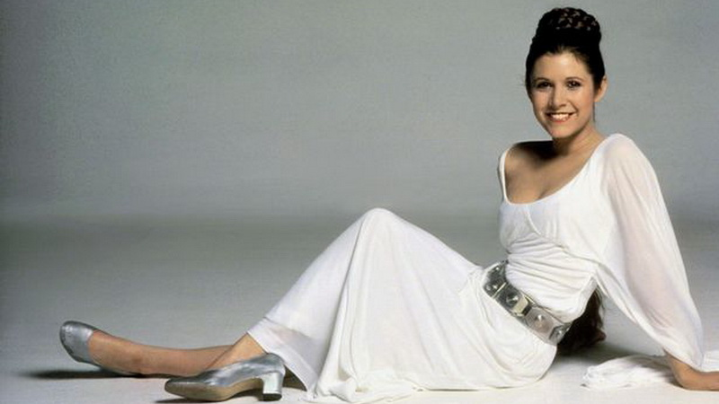 Carrie Fisher (Foto: Mirror)