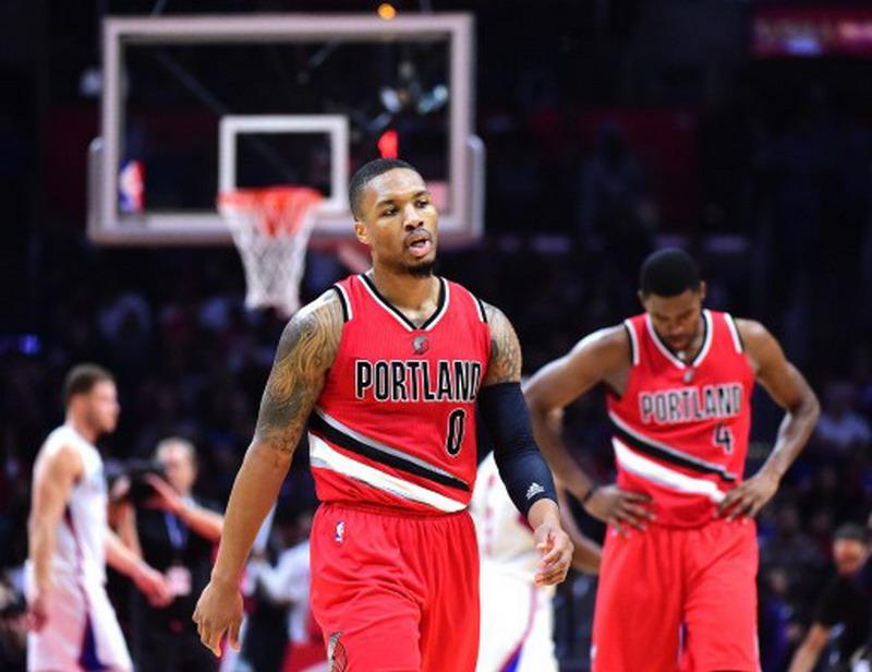 Portland Blazers menang lawan Cavaliers dan kekalahan (Foto: Harry How/AFP)