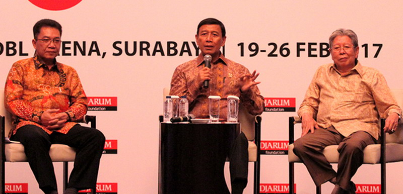 Ketua Umum PBSI, Wiranto sampaikan soal Superliga Badminton (Foto: PBSI)