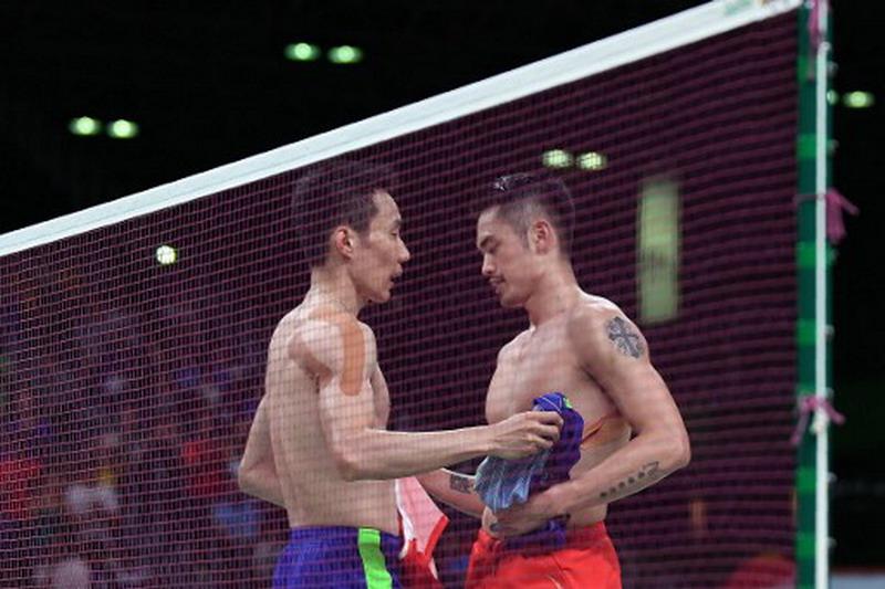 Trofi Lee Chong Wei lebih banyak ketimbang Lin Dan. (Foto: AFP/Goh Chai Hin)