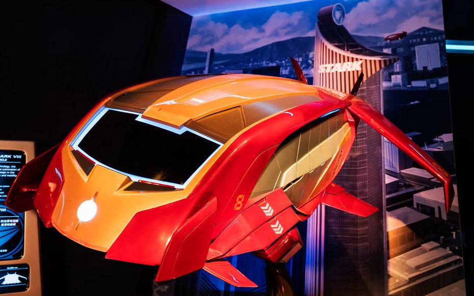 Disneyland Hong Kong Buka Wahana Bermain Iron Man