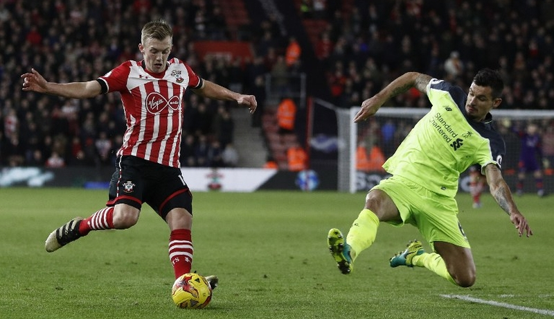 Southampton vs Liverpool (Foto: AFP)
