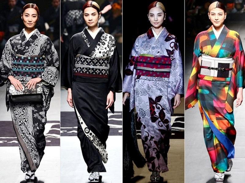 Gaya Fesyen Jepang Warnai Lini Busana Tanah Air