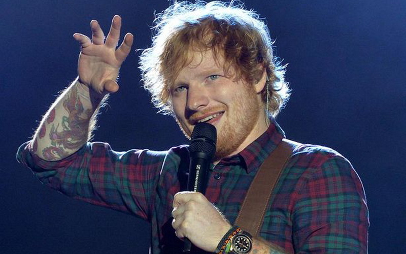 Ed Sheeran (Foto: Mirror)
