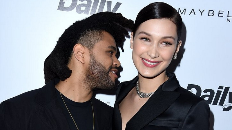 Bella Hadid dan The Weeknd (Foto: PopSugar)