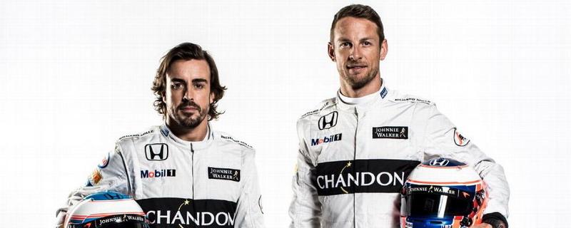 Fernando Alonso dan Jenson Button (Foto: ESPN)