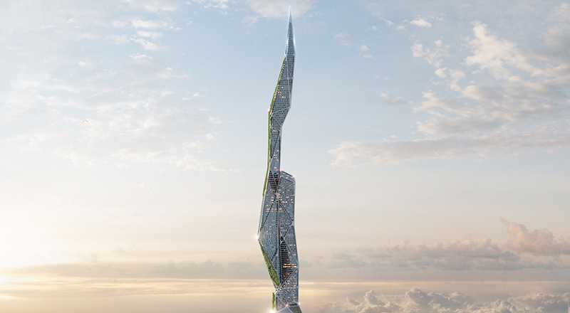 \TERPOPULER: Arconic, Gedung 4.828 Meter yang Bisa 'Telan' Asap\