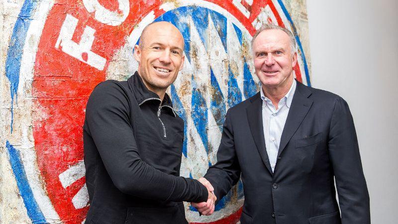 Arjen Robben. (Foto: FC Bayern)