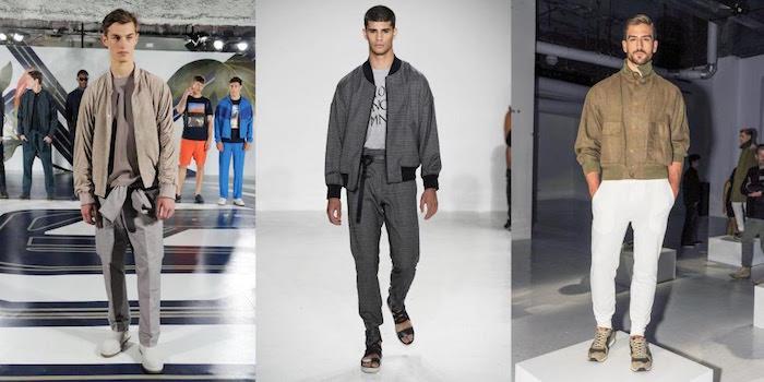 TREN FASHION 2017 : Hoodie dan Bomber Jacket Tetap Menjadi Tren Busana Pria di New York Fashion Week