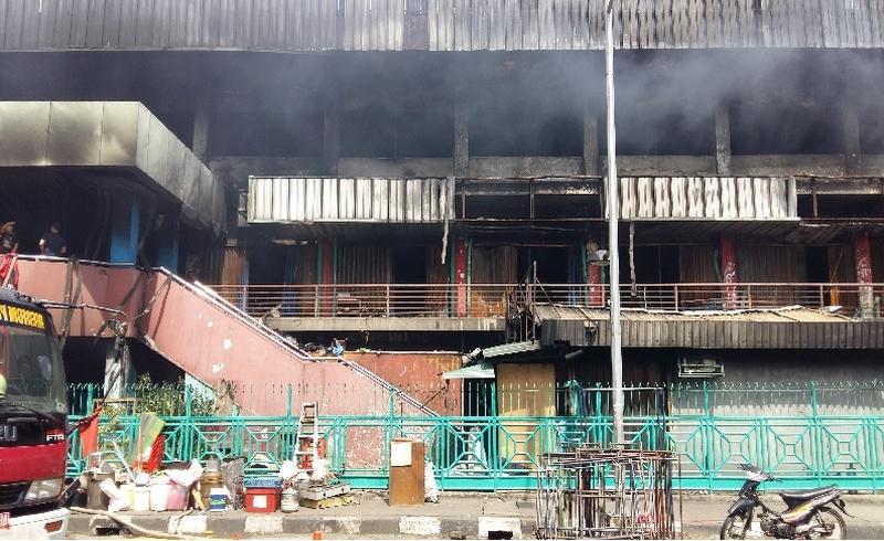 \   Kerugian Kebakaran Pasar Senen Ditaksir Lebih dari Rp150 Miliar   \