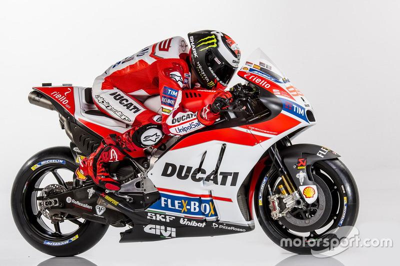 Lorenzo siap tampil maksimal bersama Ducati. (Foto: Motorsport.com)