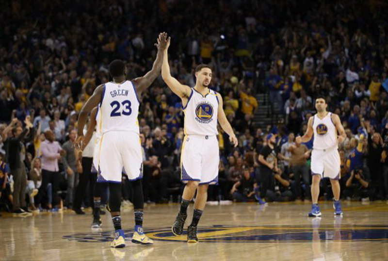 Golden State Warriors (Foto: Ezra Shaw/AFP)