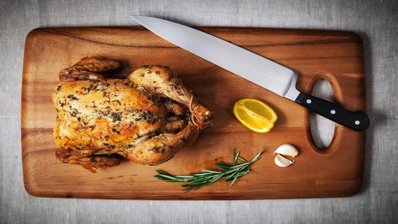 RESEP PILIHAN: Ayam Panggang Bumbu Bawang Putih dan Parmesan