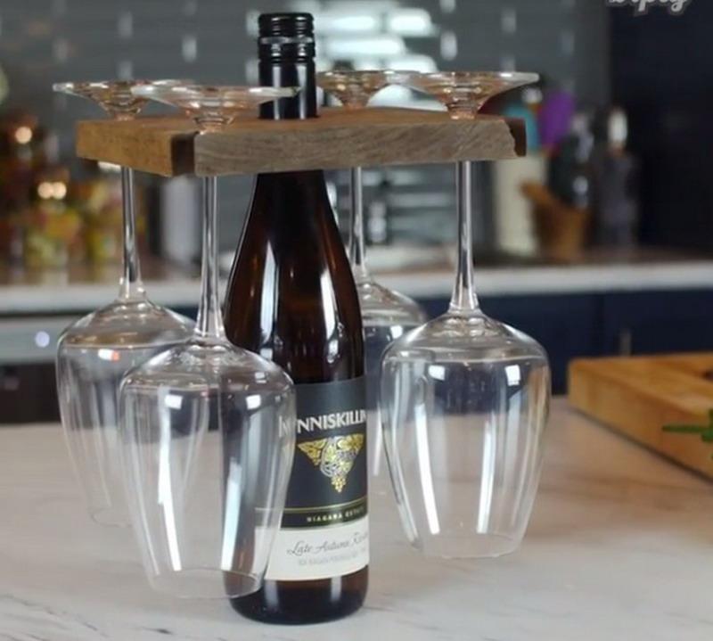 Percantik Dekorasi Dinner dengan Glass Carrier Buatan Sendiri