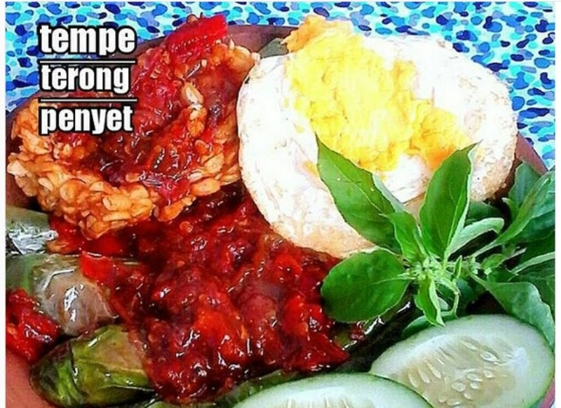 RESEP NENEK: Lauk Serba Penyet untuk Makan Siang