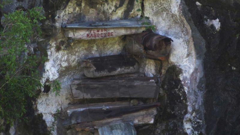 Kuburan di Atas Tebing Jadi Pemandangan Menarik di Sagada Filipina