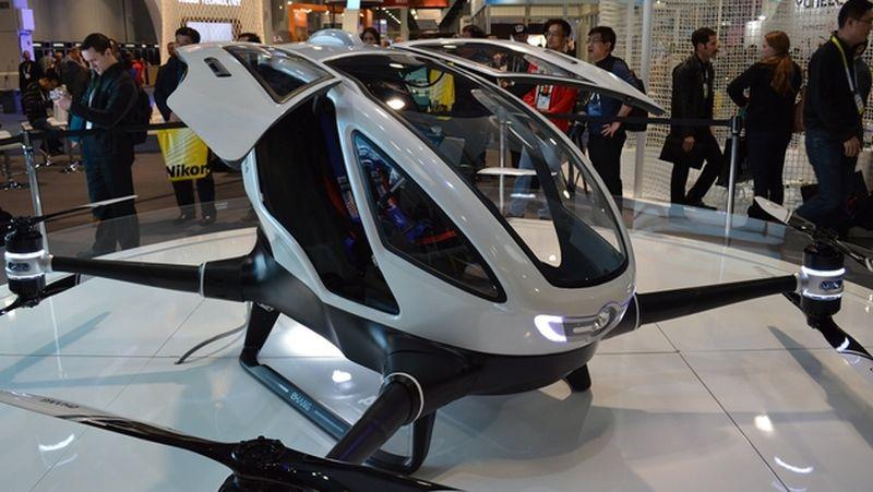 Wow, Dubai Akan Luncurkan Taksi Terbang di Musim Panas Nanti