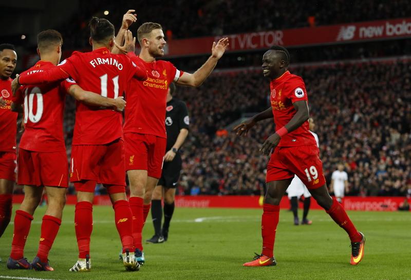 Liverpool incar finis di posisi dua Liga Inggris. (Foto: REUTERS/Phil Noble)