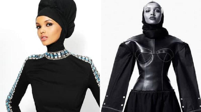 Model Berhijab Pamerkan Koleksi Yeezy Terbaru Milik Kanye West di New York Fashion Week!