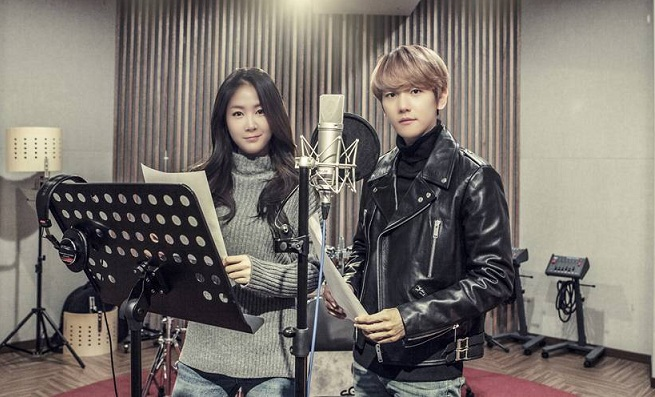 Soyou SISTAR dan Baekhyun EXO. (Foto: Allkpop)
