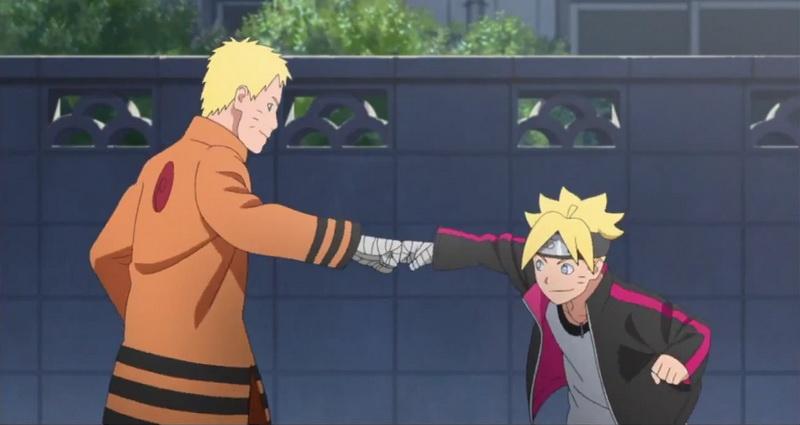 Naruto dan Boruto (Foto: Ist)