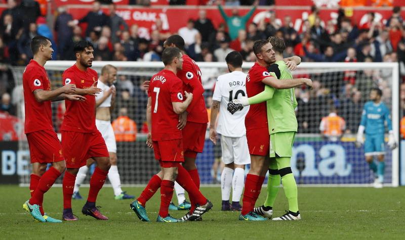Liverpool belum pernah menjuarai Liga Inggris dengan format baru. (Foto: REUTERS/Stefan Wermuth)