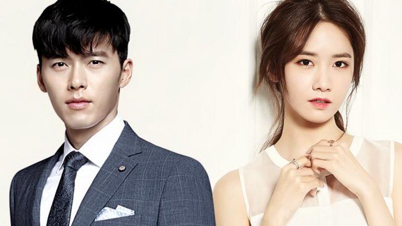 Hyun Bin dan Yoona (Foto: Kpopstarsz)