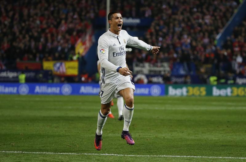 Ronaldo paling sering tampil di 16 besar Liga Champions. (Foto: REUTERS/Javier Barbancho)