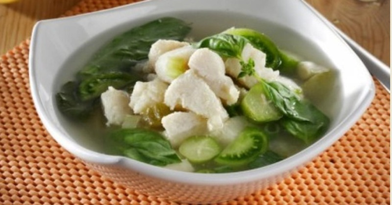 RESEP PILIHAN: Nikmatnya Lahap Sup Ikan Dori Kacang Merah di Kala Hujan