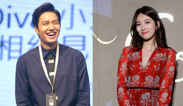 Lee Min Ho dan Suzy Bae. (Foto: Inquisitr)