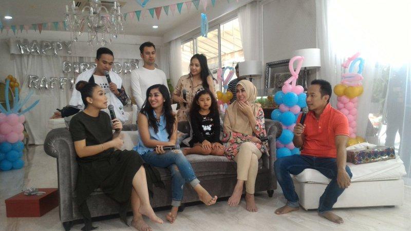 Dahsyat di rumah Raffi Ahmad (Foto: MNC Media)