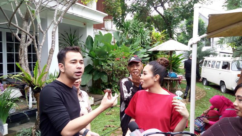 Raffi Ahmad ulangtahun (Foto: Sumarni/Okezone)