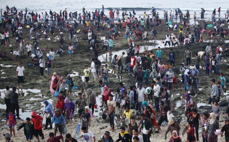 TOP TRAVEL: Mengulik Sejarah Festival Bau Nyale di Lombok