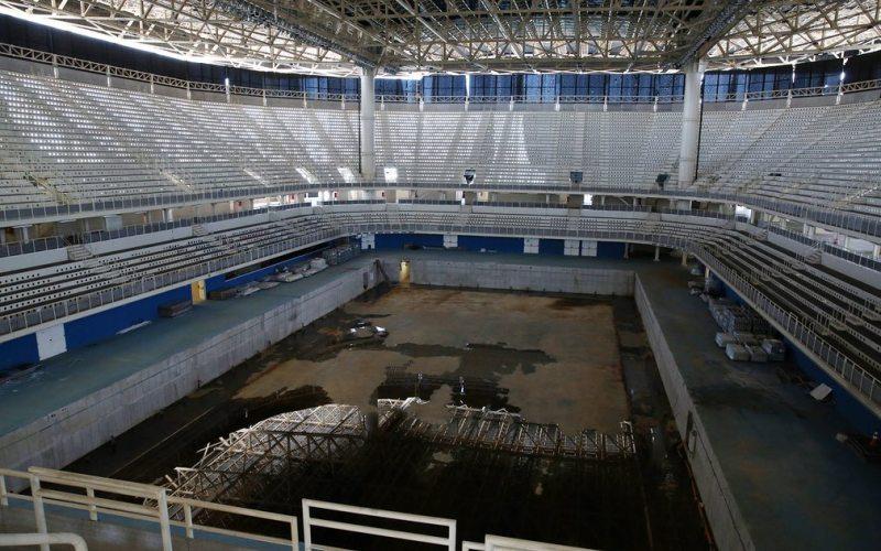 Venue Olimpide Rio 2016 mulai terbengkalai (Foto: Reuters)