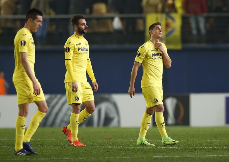 Villarreal dihancurkan Roma 0-4. (Foto: REUTERS/Albert Gea)