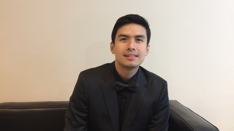 Christian Bautista (Foto: Ady/Okezone)