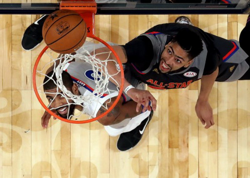 Anthony Davis NBA All Stars (Foto: AFP)
