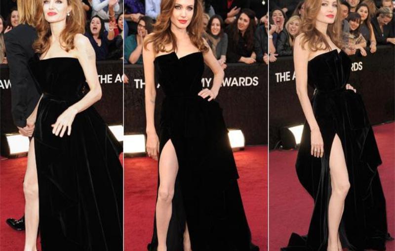 Jolie di Oscar 2012 (Foto: Dailynews)
