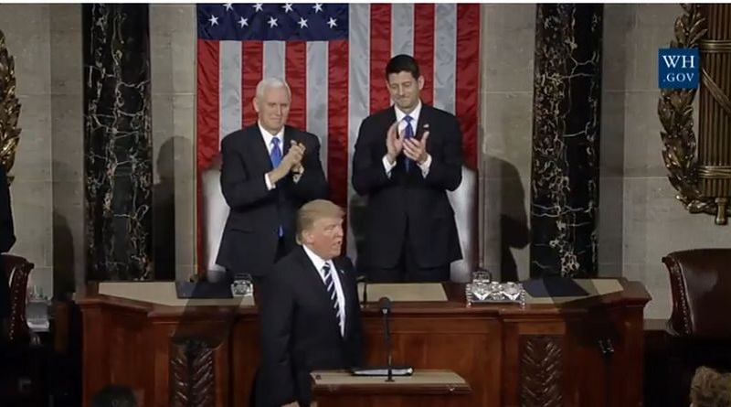 \Pidato Perdana, Presiden Trump Nyatakan Investor Kakap Tanam Investasi Miliaran Dolar AS\