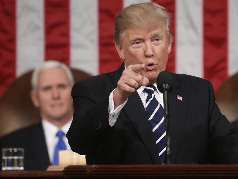 \Pidato Perdana, Presiden Trump Siapkan USD1 Triliun untuk Infrastruktur\