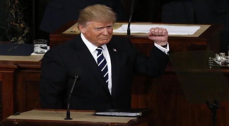 \12 Poin Penting Pidato Presiden Trump di Bidang Ekonomi\